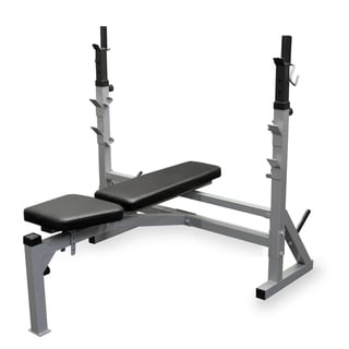 Valor Fitness BF-39 FID Olympic Bench - Silver
