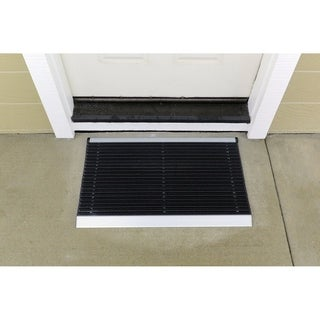 Mats Inc. Ultimate Outdoor Bristle Entrance Mat with Aluminum Frame