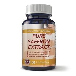 100-percent Pure Non-GMO Saffron Extract (60 Capsules)