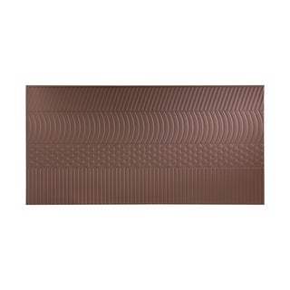 Fasade Nexus Argent Bronze 4-foot x 8-foot Wall Panel