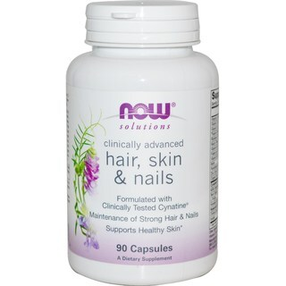 Now Foods Solutions Hair Skin & Nails (90 Capsules)