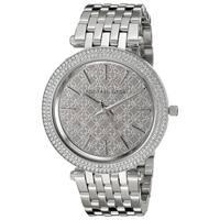 Michael Kors Women's  'Darci' Crystal Stainless Steel Watch