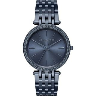 Michael Kors Women's MK3417 'Darci' Crystal Blue Stainless Steel Watch