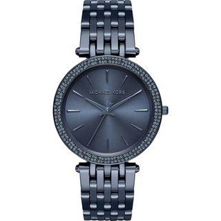 Michael Kors Women's MK3417 'Darci' Crystal Blue Stainless Steel Watch