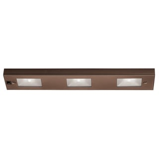 Line Voltage Under Cabinet 3-light Light Bar