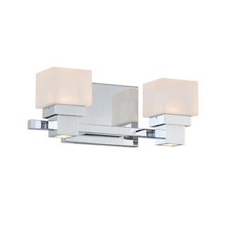 Kube LED 2 Light 2-light Vanity and Wall Light