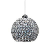 Roxy Crystal 1-light Pendant with Canopy