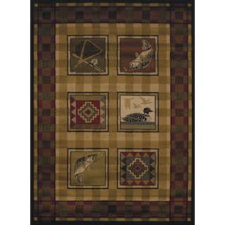Harmony Kat Lodge Accent Rug (1'10 x 3')