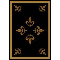 Harmony Marlee Runner Rug - Black/Gold - 1'10 x 7'3