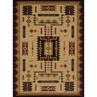 The Curated Nomad Martha Geometric Runner Rug - 1'10 x 7'3