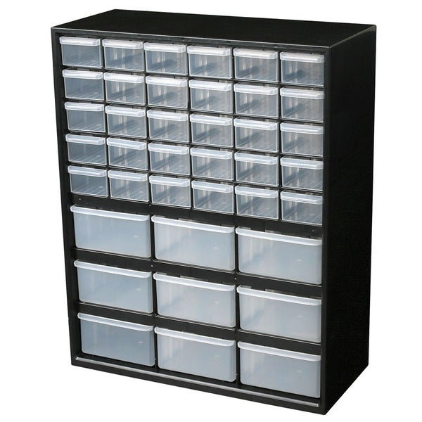 Flambeau Hardware 39 Drawer Part Storage Cabinet