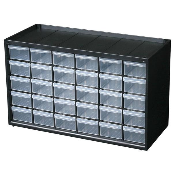 Flambeau Hardware 30 Uniform Compartments Storage Cabinet - Free ...