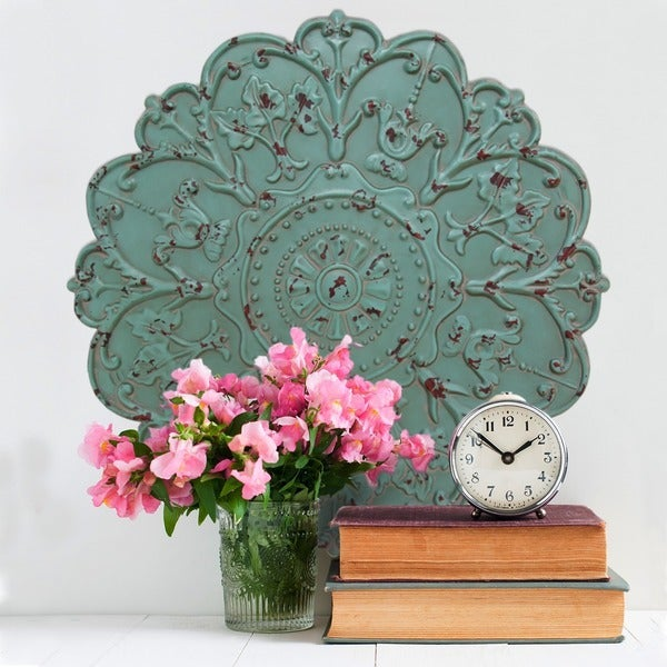 Stratton Home Decor Shabby Medallion Wall Decor Free