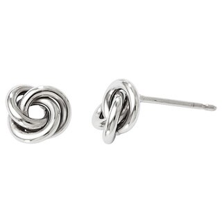 Versil 10k White Gold Polished Post Earrings|https://ak1.ostkcdn.com/images/products/10543797/P17624260.jpg?_ostk_perf_=percv&impolicy=medium