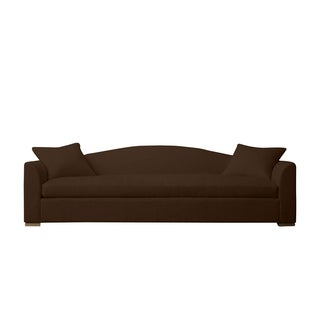 Chocolate Linen Claremont Made to Order Sofa
