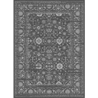 Alise Eternity Transitional Charcoal Area Rug (5'3 x 7'3)
