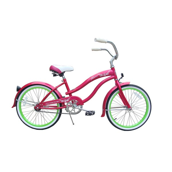 Micargi Famous 20-inch Hot Pink Beach Cruiser