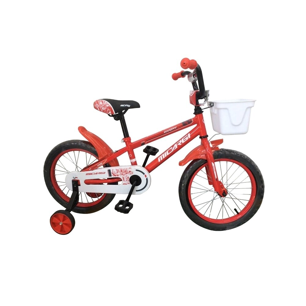 Micargi Jakster Boy's 16-inch BMX Bicycle (RED)