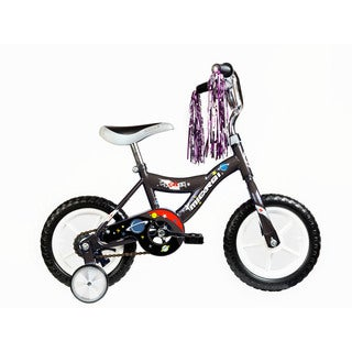 Micargi Kids Black 12-inch Bicycles with Training Wheels