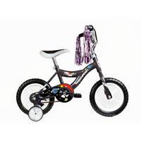 Micargi Kids Black 12-inch Bicycles with Training Wheels