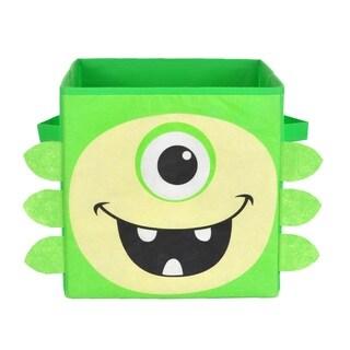Nuby Green Monster Folding Storage Bin