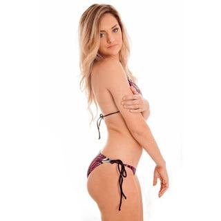 Dippin' Daisy's Multizebra Basic Triangle Bikini