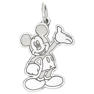 Versil Sterling Silver Disney Waving Mickey Charm