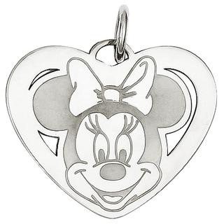 Versil Sterling Silver Disney Minnie Heart Charm