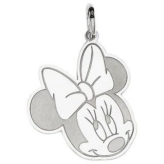 Versil Sterling Silver Disney Minnie Charm