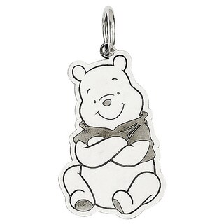 Versil Sterling Silver Disney Winnie the Pooh Charm