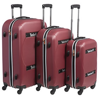 Timberland Shelburne 3-piece Hardside Spinner Luggage Set