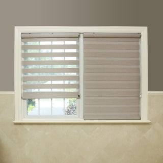 Premium Fabric Coconut Sunshut Duo Blackout Window Shade