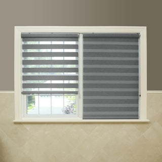 Premium Fabric Grey Sunshut Blackout Window Shade