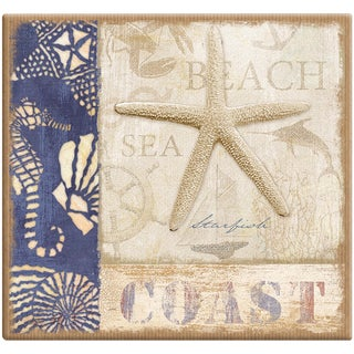 Beach Coast Post Bound Scrapbook 12inX12in