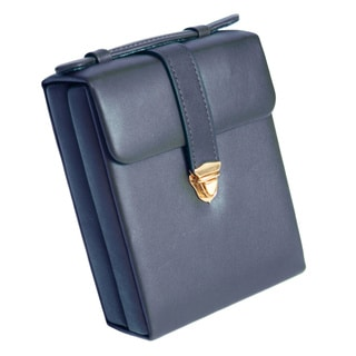 Royce Leather Luxury Suede Jewelry Case
