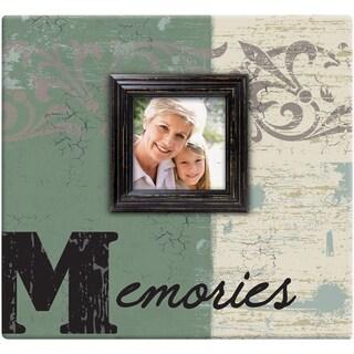 Memories Post Bound Scrapbook W/Window 12inX12in