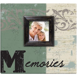 Memories Post Bound Scrapbook W/Window 12inX12in