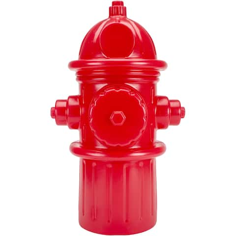 Hueter Toledo Red Fire Hydrant Pet Container