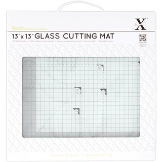 Xcut Tempered Glass Cutting Mat 13inX13in