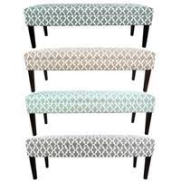 MJL Furniture Kaya Fulton 10-button Tufted Upholstered Long Bench