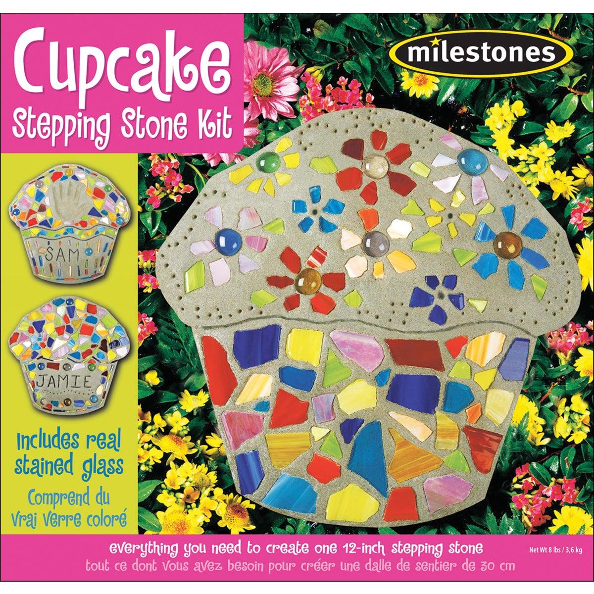 Midwest Mosaic Stepping Stone (Grey) KitCupcake (Cupcake)
