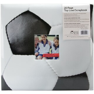 Sport & Hobby Post Bound Album 12inX12inSoccer