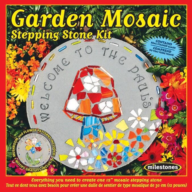 Midwest Mosaic Stepping Stone (Grey) KitGarden (Garden)