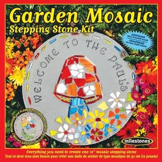 Mosaic Stepping Stone KitGarden