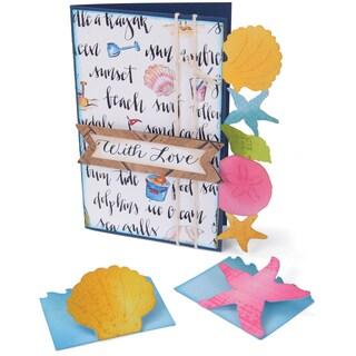 Sizzix Bigz XL Die 6inX13.75inSeashells & Starfish Cards & Mini Cards