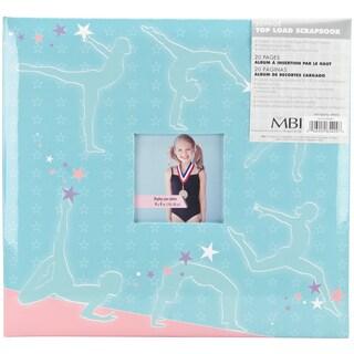 Sport & Hobby Post Bound Album 12inX12inGymnastics