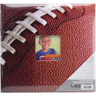 Sport & Hobby Post Bound Album 12inX12inFootball