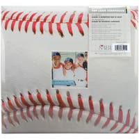 Sport & Hobby Post Bound Album 12inX12inBaseball