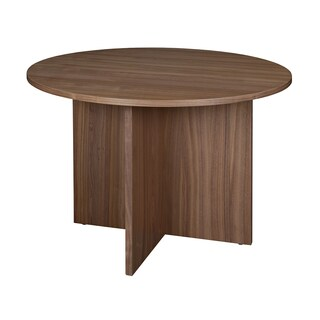 Harmony 42-inch Round Conference Table Featuring Lockdowel Assembly