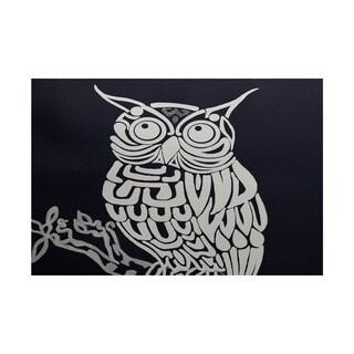 Hootee Animal Print Rug (2' x 3')